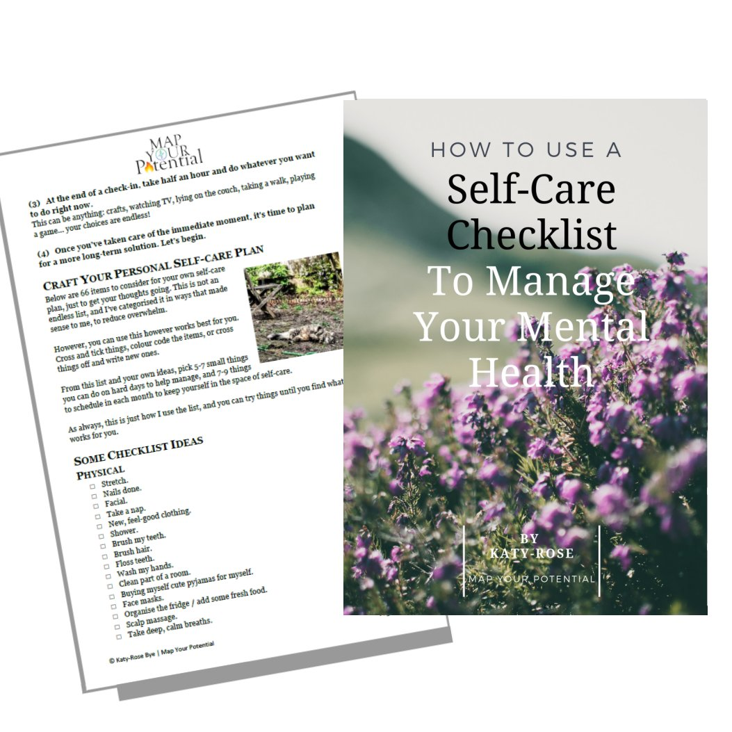 self care mental health checklist wellbeing resilience