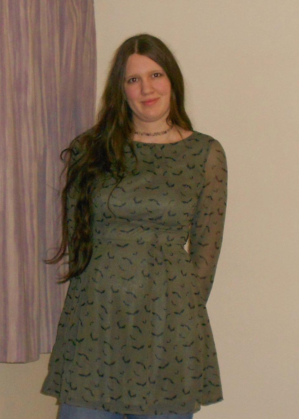 Halloween Bat Dress