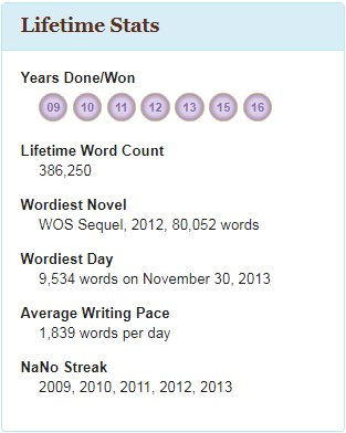 NaNoWriMo 2017 :: Preparations