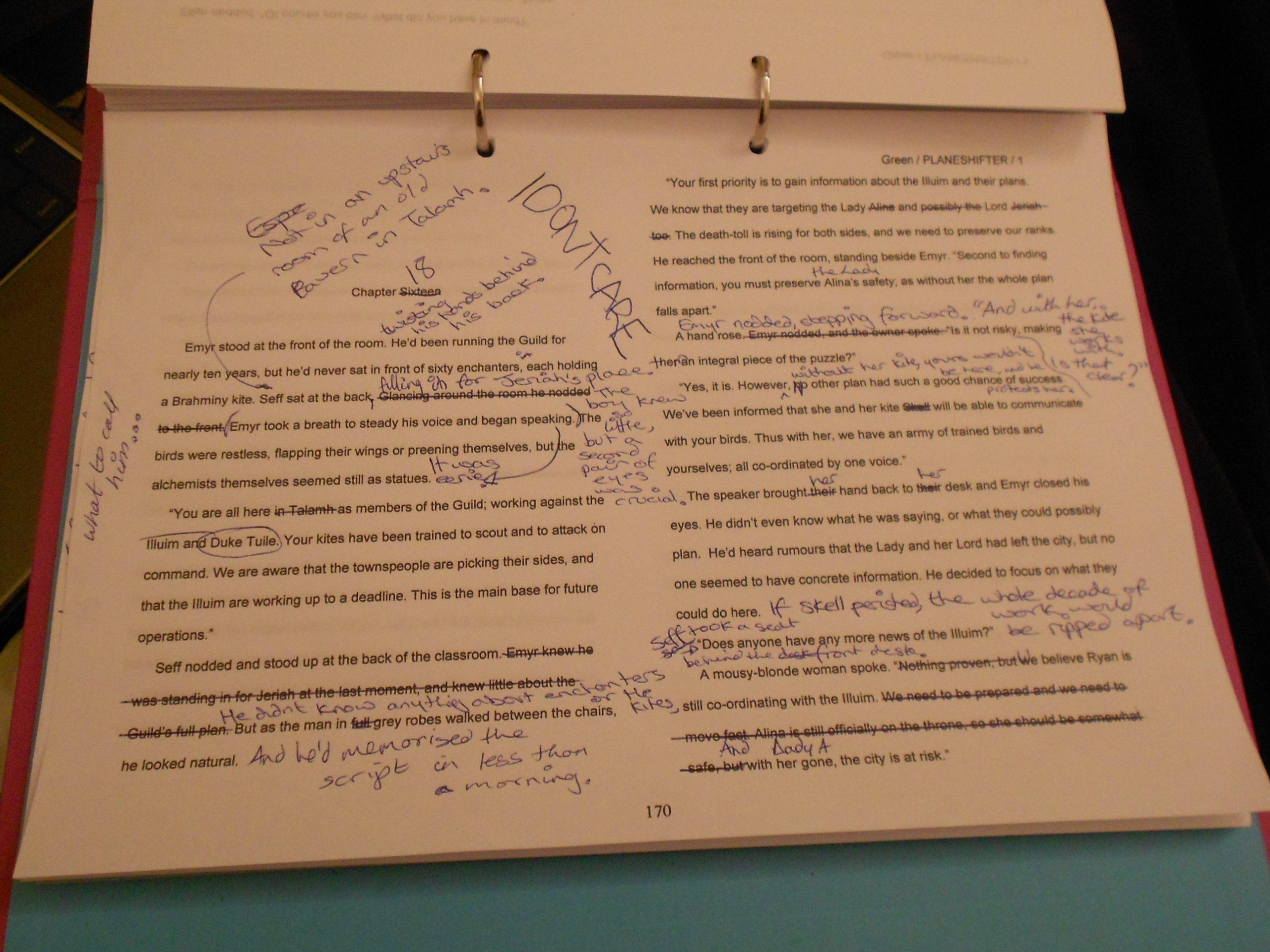 A New Editing Checklist